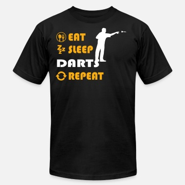 Mens Dart Darts - present for men and women - Men's  Jersey T-Shirt