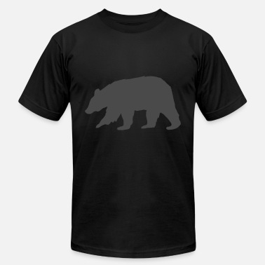 Bear Paw Bear - Men's  Jersey T-Shirt