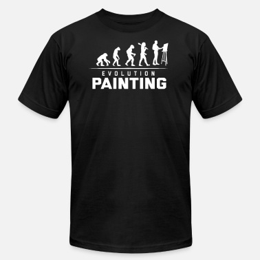 Paint EVOLUTION OF PAINTING - Unisex Jersey T-Shirt