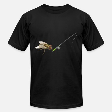 Fisherman Jokes Fly Fishing Fisherman Sportfishing Funny Joke Gift - Men's  Jersey T-Shirt