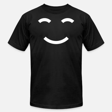 Smile World Smiles Smile the World - Men's  Jersey T-Shirt