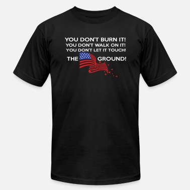 Ground THE AMERICA GROUND - Unisex Jersey T-Shirt