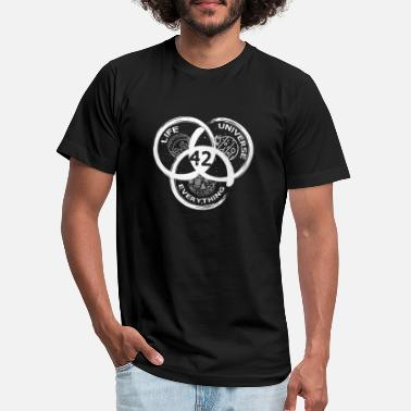 Answer 42 Answer to Life Universe and Everything - Unisex Jersey T-Shirt