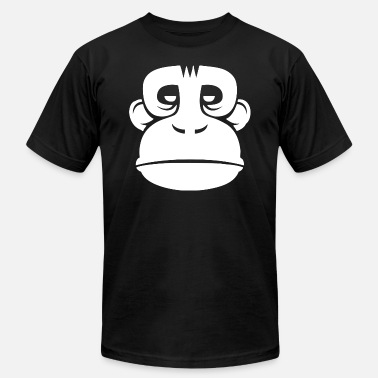 Evil Eyes Red Evil Monkey Red Eye - Men's  Jersey T-Shirt