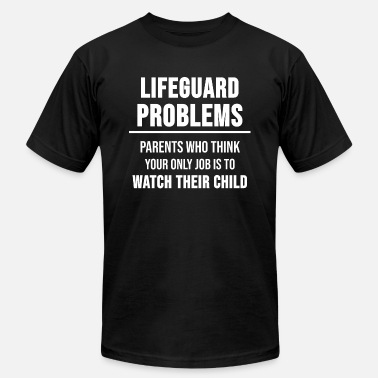 Swimming Trunks Lifeguard Swimming Pool Trunks Funny Gift - Unisex Jersey T-Shirt