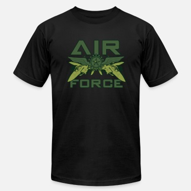 Air Style USAF Air Force Military Style - Men's  Jersey T-Shirt