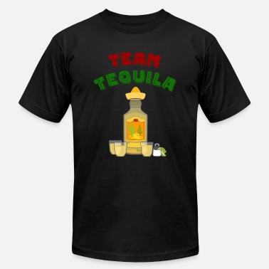 Tequila Texting Team Tequila Drinks Lick Swallow Bite - Men's  Jersey T-Shirt