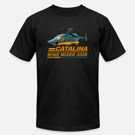 Catalina T-Shirts - Step Brothers Catalina - Men's Jersey T-Shirt black