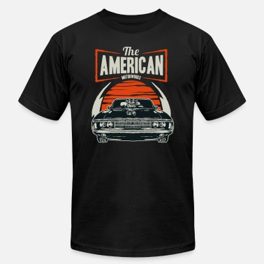 Muscle American Muscle car - Men's  Jersey T-Shirt