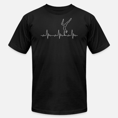 Cool Calisthenics Calisthenics Heartbeat Handstand Women - Men's  Jersey T-Shirt