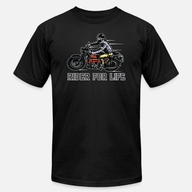 Riders Life Riders For Life - Men's  Jersey T-Shirt