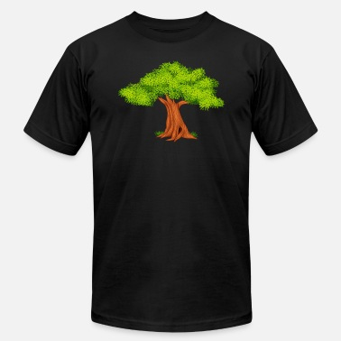 Fauna oak-tree-Fauna-wildlife - Men's Fine Jersey T-Shirt