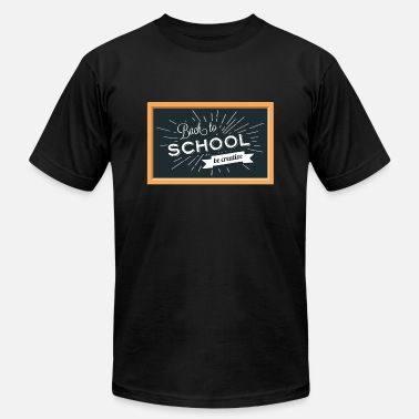 School Day Back To School Background - Men's  Jersey T-Shirt