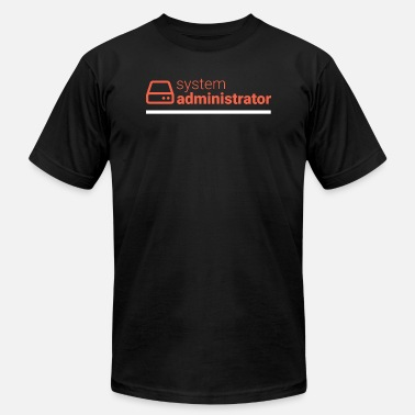 Administrator Geek System Administrator - Men's  Jersey T-Shirt