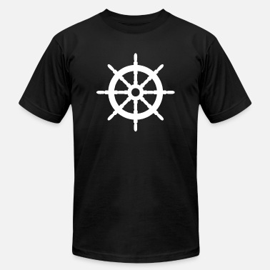 Steer Steering of ships - Men's Jersey T-Shirt