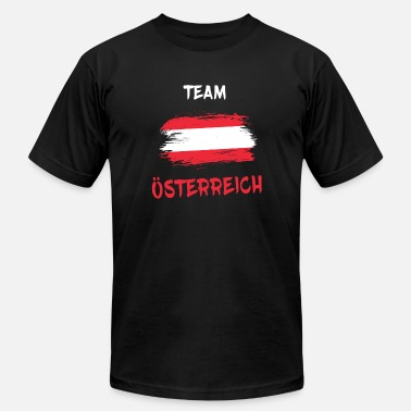 Kitzbühel Team Austria / Gift Vienna National Flag - Men's Jersey T-Shirt