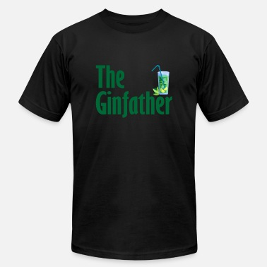 Alcohol The ginfather gift party alcohol - Unisex Jersey T-Shirt