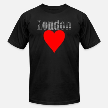 Cosmopolitan City A heart for London! Gift, cosmopolitan city - Unisex Jersey T-Shirt