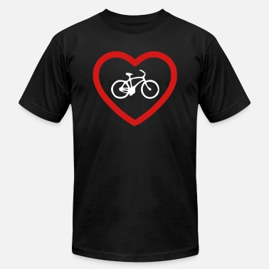 Eco-conscious i love bikes - Men's  Jersey T-Shirt