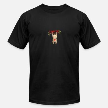 d508c445d I Sloth You Funny Sloth T-Shirt! Love Sloths Shirt Gift - Men&#