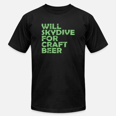 c6fd2bf7c skydive craft beer - Men's Jersey T-Shirt. Men's ...