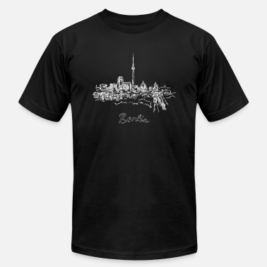 Berlin City Berlin City - Germany - Men's Jersey T-Shirt