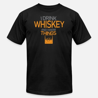 Whiskey Quotes Whiskey - Men's Jersey T-Shirt