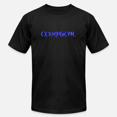 Compton Gang BLUE AND WHITE COMPTON CALIFORNIA - Men's  Jersey T-Shirt
