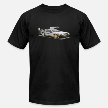 delorean parking meter - Unisex Jersey T-Shirt