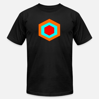 Hexagon hexagon - Men's  Jersey T-Shirt