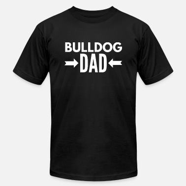 Bulldog Dad Bulldog Dad - Men's  Jersey T-Shirt