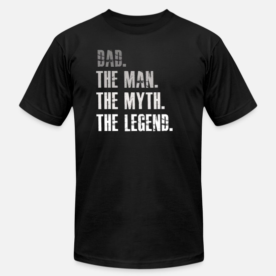 0d80ebbf9 Dad The Man The Myth The Legend Men's Jersey T-Shirt | Spreadshirt