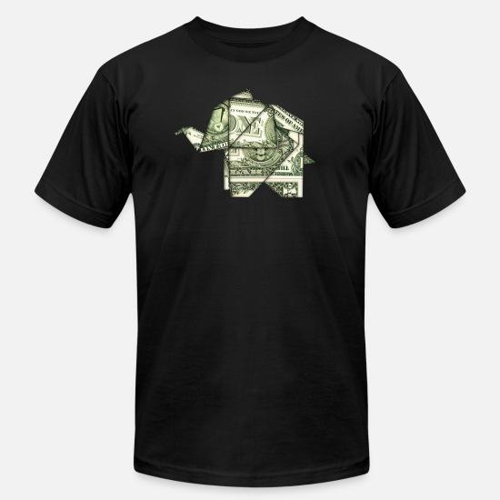 Dollar Bill Tee Shirt Origami - DREAMWORKS | 550x550