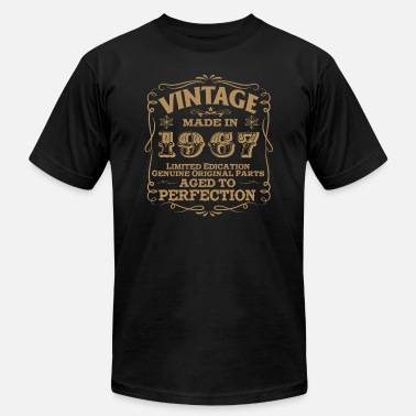 1967 Mustang Vintage - 50th Birthday Vintage Made In 1967 - Men's  Jersey T-Shirt