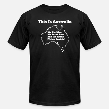 Australian Beer This Is Australian 1 - Unisex Jersey T-Shirt