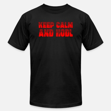 Fuck Exchange GIFT - KEEP CALM RED - Men's  Jersey T-Shirt