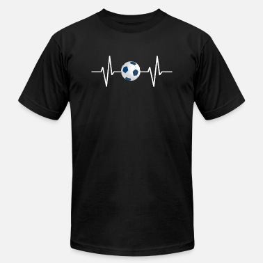 Thrash My heart beats for soccer! gift - Men's  Jersey T-Shirt