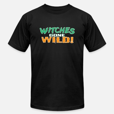 Gone Illustration Witches Gone Wild - Men's Fine Jersey T-Shirt