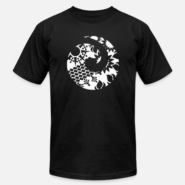 976101beb Maori Maori Wave Koru Tattoo Tribal Shapes - Gift Idea - Men's