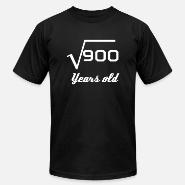 Square Root Of 900 Square Root Of 900 30 Years Old - Men's Jersey T-Shirt