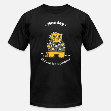 Office Monday Monday office Dinosaur - Men's  Jersey T-Shirt