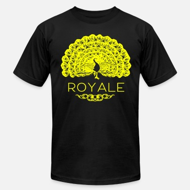 Letter Royal royale peacock - Men's  Jersey T-Shirt