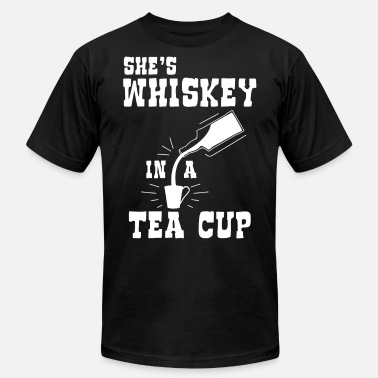 Malthe She s Whiskey in a TeaCup - Men's  Jersey T-Shirt
