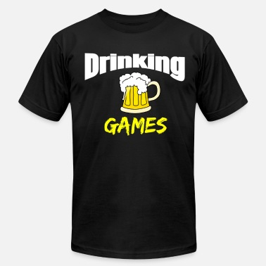 Drinking Games Drinking Games - Men's Jersey T-Shirt