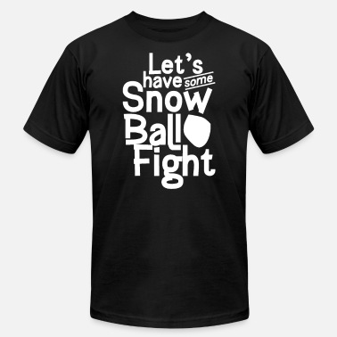 Snowball Game Snow Snowball Fight Snowballs Winter - Unisex Jersey T-Shirt