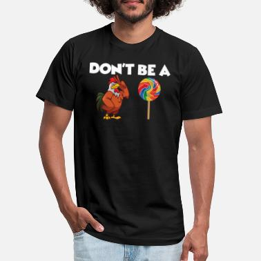 Rooster Rooster Lolipop - Unisex Jersey T-Shirt