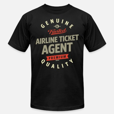 Airline Airline Ticket Agent - Unisex Jersey T-Shirt