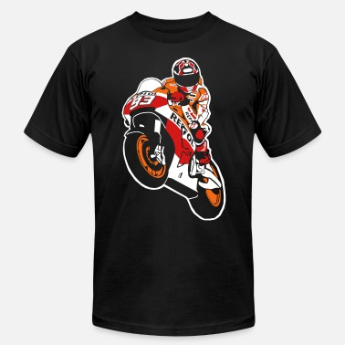 Superbike Moto-GP Racing - Men's Jersey T-Shirt