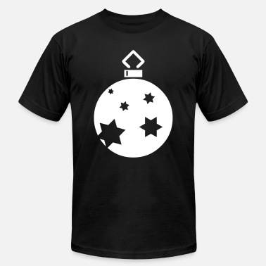 Christmas Ornaments Starry Ornament - Men's  Jersey T-Shirt