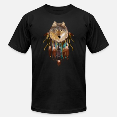 Abstract Wolf Abstract wolf dreamcatcher TSHIRT - Men's  Jersey T-Shirt